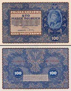 Największy, kompletny, w pełni ilustrowany spis banknotów polskich od początku XX wieku. Banknoty przedstawiono w dokładnie opisanych seriach. Eye Brows, Poland, Coins, World, Stamps, Historia, Poster, Eyebrows, Rooms
