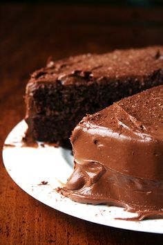 Beatty's Chocolate Cake. This cake, made with buttermilk and oil (no butter) and exclusively cocoa (no melted chocolate) is incredibly light and moist and tastes freshly baked for days (Alexandra Cooks)