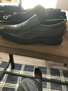 b5695cc1aa67 ECCO Helsinki Size 39 (US 8) New Black Shoes and Bag Pristine Condition
