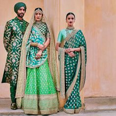 Ideas Indian Bridal Lehenga Green Wedding Website For 2019 Lakme Fashion Week, India Fashion, Asian Fashion, Fashion Usa, Fashion Online, High Fashion, Desi Wedding, Wedding Wear, Wedding Sarees