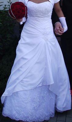 Mon Cheri Aisling - white Recycled Bride, Mon Cheri, One Shoulder Wedding Dress, Dress Shoes, Wedding Dresses, Fashion, Formal Shoes, Moda, Bridal Dresses