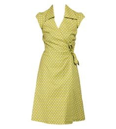 green polka dot dress  ASFALT