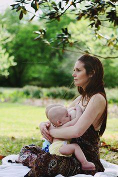 Breastfeeding multiples. Lovely!