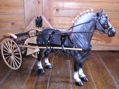 Peter Stone/ Breyer Model Horse Deluxe Draft Size Breast Collar Show Harness #Collectible