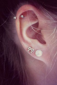 multilpe ear piercings