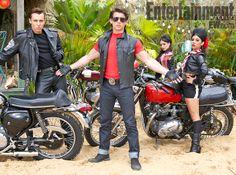 Teen Beach Movie Bikers   Teen Beach Movie' set to ride the wave tonight   The Family Room   EW ...
