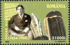 Literary Stamps: Wilde, Oscar (1854-1900)