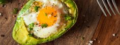 Baked Eggs in Avocado A wonderful way to start your day with a baked egg in avocado. When avocado's are in season trying to use them up can be a challenge, well this is the perfect recipe to… Baked Avocado, Avocado Recipes, Keto Recipes, Healthy Recipes, Healthy Fats, Salad Recipes, Healthier Desserts, Ripe Avocado, Protein Recipes