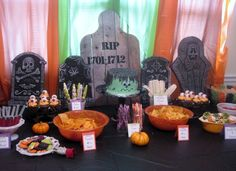 Cute food names for Halloween parties!