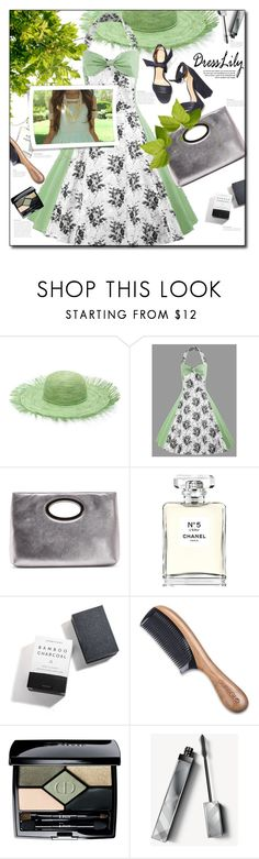 """Summer floral dress time"" by astromeria ❤ liked on Polyvore featuring Sensi Studio, Donald J Pliner, Chanel, Herbivore, Aroma, Christian Dior and Burberry"