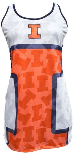 Rest and relax like a winner with this comfy, cute women's Illinois Fighting Illini nightgown. Illinois Fighting Illini, Cute Woman, Nightgown, Athletic Tank Tops, Comfy, Gowns, Stylish, Tees, Big