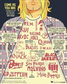 The news you need. Nirvana Art, Nirvana Lyrics, Nirvana Kurt Cobain, Nirvana Quotes, Kurt Cobain Quotes, Grunge, El Rock And Roll, Donald Cobain, Smells Like Teen Spirit