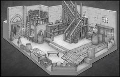 ArtStation - Fantasy Interiors, Daniel Allison