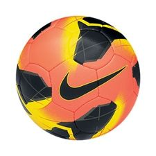 I love the cool colors it looks like its on fire! Nike-Maxim-CBF-Soccer-Balls-Mango-Yellow-Black soccercorner.com