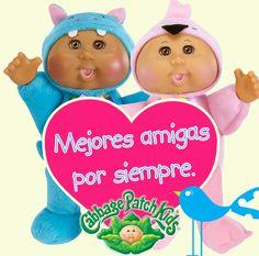 Mejores amigas por siempre. #cabbagepatch #cabbagepatchkids #sketchers #muñeca #niñas #abrazo #palaciodehierro #liverpool #comercialmexicana #walmart #soriana #sears #chedraui #coppel #juguetron #HEB #cuties