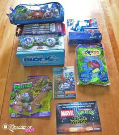 The August Nerd Block Jr. for Boys box revealed! Denise shares the fun nerd goodies for kids in this month's box. TMNT, Zorbz. Avengers & more! http://www.findsubscriptionboxes.com/a-closer-look/august-2016-nerd-block-jr-boys-review/?utm_campaign=coschedule&utm_source=pinterest&utm_medium=Find%20Subscription%20Boxes&utm_content=August%202016%20Nerd%20Block%20Jr.%20for%20Boys%20Review%20%20%2B%20Coupon  #nerdblockjr