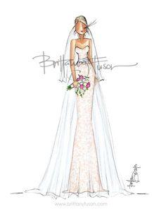 Blushing Bride (Brittany Fuson)