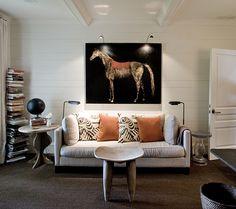 Helen Ballard Weeks  My todd murphy painting of our horse