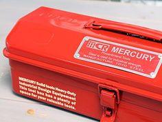 「ツールボックス 工具箱 おしゃれ マーキュリー MERCURY アウトドア キャンプ キャンプグッズ キャンプ用品 レッド_MC-MEMJTBRD-MCR」の商品情報やレビューなど。