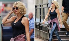 Taylor Swift holds her head high in NY after split from Tom Hiddleston
