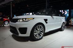 После публичного дебюта на Неделе Monterey Car в середине августа Range Rover Sport SVR 2015 в настоящее время экспонируется на Парижском автосалоне, как самый мощный автомобиль Land Rover за всю историю бренда. Так, Sport SVR недавно установил рекорд круга в знаменитом Нюрбургринге. �
