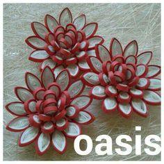 Květy - leknín * quilling