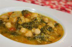 Potaje de garbanzos con verduras | Azafranes y Canelas