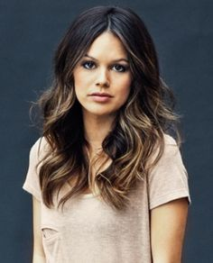 Love the color and style.  In the process of growing out my bangs & I'll be part way to this!