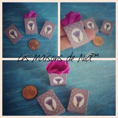 Mini scene lavender bag 1:12 #lesmaisonsdenia