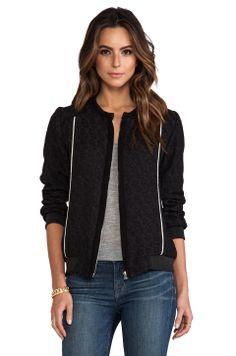 IRO Kayden Jacket in Black from REVOLVEclothing