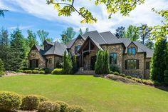 Exterior of luxury home