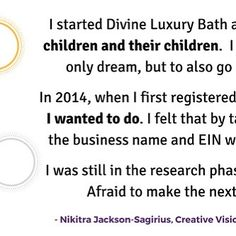 my B.O.B. @divineluxuryatx | Nikitra Jackson-Sagirius is the creative visionary behind Divine Luxury Bath and Body. Her business is a luxurious natural and organic bath and body company with a focus on creating the best lifestyle for you. Nikitra is a Texas native and her business is online but based in the Austin area. It was Nikitras daughter who pushed her to make products. Her daughter said to her Mom when are you going to start your business? You have all these supplies just sitting…