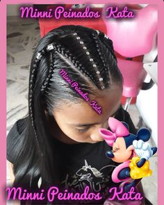 52 Super Ideas For Braids Styles For Kids Black Hair Little Girl Braids, Girls Braids, Little Girl Hairstyles, Trendy Hairstyles, Bob Hairstyles, Braided Hairstyles, Curly Hair Styles, Natural Hair Styles, Natural Beauty