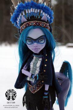 OOAK Custom Monster High Avea Trotter  http://www.ebay.com/itm/-/221960397141?