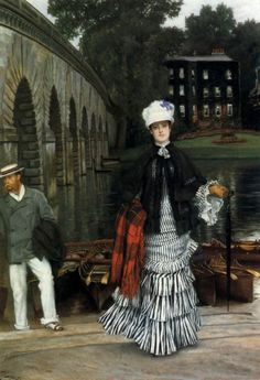 Tissot: The Return of the Boating Trip, 1873, Private Collection - Jacques Joseph Tissot (1836 – 1902)