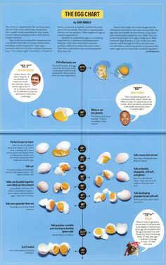 How awesome is this chart of sous vide temperatures for eggs? This chart alone justifies the $10 price tag on the inaugural issue of David C...