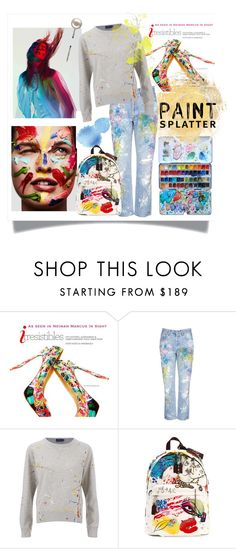 """""""#paintsplatter"""" by hellodollface ❤ liked on Polyvore featuring Converse, Rialto Jean Project, Marc Jacobs and paintsplatter"""