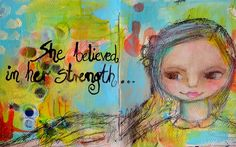 TandiArt: Art Journal Pages