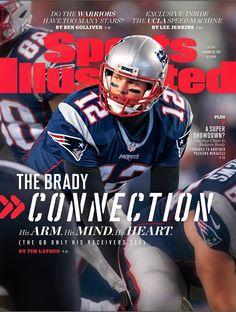 e5f178ba9 Sports Illustrated Tom Brady Connection England Patriots 2017 No Label