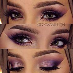 Beautiful makeup @lookamillion  @shophudabeauty lashes in Scarlett