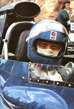 Patrick Depailler - Tyrrell 004 - Grand Prix de France (Charade) 1972 L'Automobile Août 1972