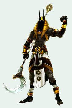 Anubis the god of afterlife