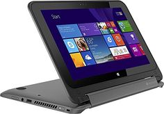 2015 Newest Model HP Pavilion x360 2-in-1 convertible(laptop or Tablet) 11.6-inch Touch-Screen Laptop(Intel® Quad-Core Pentium® N3520 processor, 4GB DDR3L SDRAM, 500GB HDD, Multitouch HD(1366 x 768) display, Bluetooth, Webcam, HDMI, USB 3.0, just 0.9-inch thin only 3.1lbs, Windows 8.1 64-bit) - Smoke silver