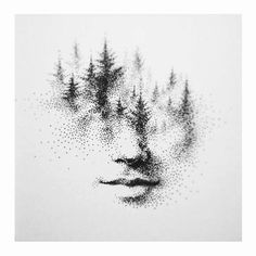 """ART SHARING on Instagram: """"Amazing stippling by @ericxwang ."""