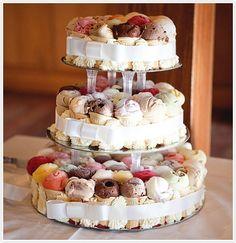 Gelato Wedding Cake | Camille Styles