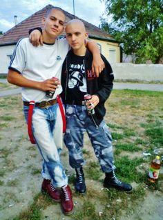 hot punks, skins, chavs