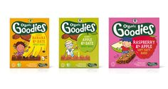 Organix launches fruit bars for children