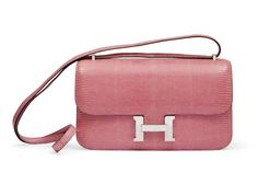 Christie's latest auction features a selection of bright and pastel bags from brand like Hermes and Chanel. Hermes Kelly Bag, Hermes Bags, Hermes Handbags, Fashion Handbags, Hermes Constance, Best Handbags, Luxury Handbags, Barbie Accessories, Vintage Chanel