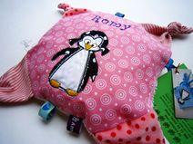 Greifling *PinguINE* Nuckeltuch Schmusetuch Baby