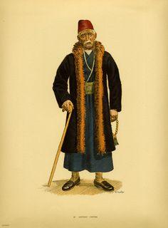 Φορεσιά Καστοριάς. Costume from Castoria. Collection Peloponnesian Folklore Foundation, Nafplion. All rights reserved.